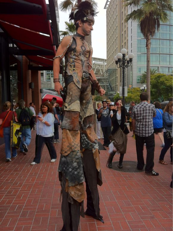 CosPlayer at #Gaslamp near #SDCC