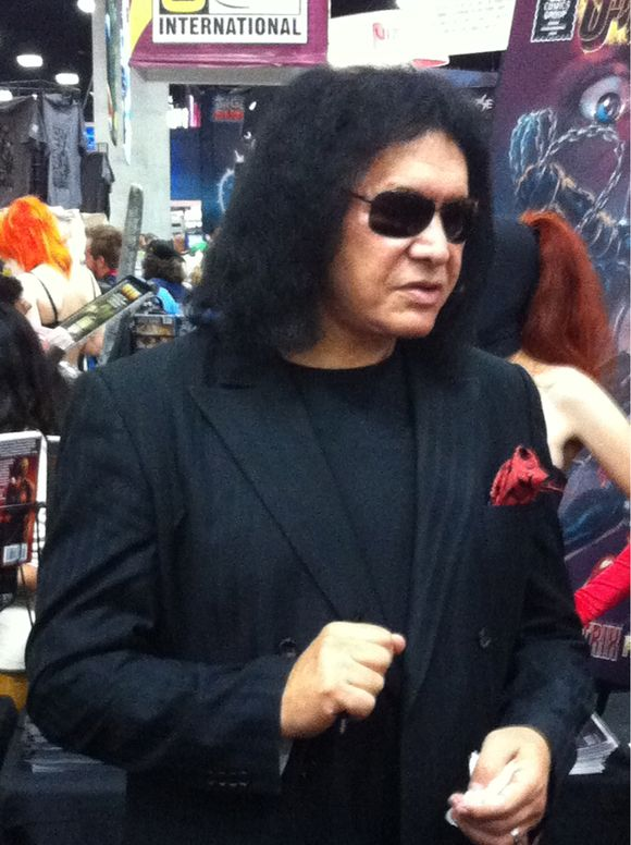Gene Simmons at #SDCC